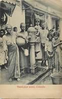 Pays Div -ref T273- Sri Lanka - Ceylon - Ceylan - Stand Pipe Scene In Colombo - - Sri Lanka (Ceylon)