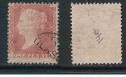 GB, 1864 1d Red SG43, Plate 140 VFU, Corner Letters TJ - Gebruikt