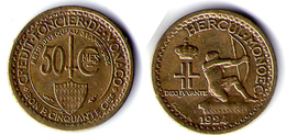50 CENTIMES 1924 - Monaco