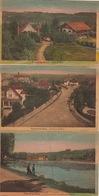 Série 12 Cartes Sur Le Lac De Genval Et Environs - Other