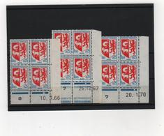 FRANCE   1966  Coin  Daté  Y.T. N° 1468  NEUF** - Coins Datés