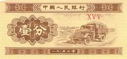 1 Fen China UNC 1953 - China