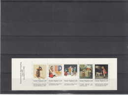 Suomi Finland / Booklet / Martta Wendelin 1893 - 1986 - Timbres