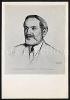 Large Postcard / 10.50 X 15.20 Cm. / Artist Signed / Gerard Baksteen / 1954 / Prof. Dr. Vital Celen / Unused / 2 Scans - Ecrivains