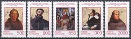 Vatikan Vatican 1992 Geschichte History Entdeckungen Discovery Kolumbus Columbus Jesuiten Mönche Bischof, Mi. 1051-5 ** - Ungebraucht