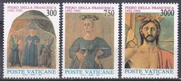 Vatikan Vatican 1992 Kunst Arts Kultur Culture Persönlichkeiten Piero Della Francesca Fresken Madonna, Aus Mi. 1051-5 ** - Ungebraucht