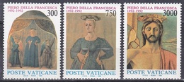 Vatikan Vatican 1992 Kunst Arts Kultur Culture Persönlichkeiten Piero Della Francesca Fresken Madonna, Aus Mi. 1051-5 ** - Vatikan
