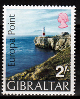 Gibraltar Mi 236 Europa Point  Postfris M.n.h. - Gibraltar