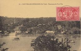 Nouvelles Hebrides Ile Vaté Panorama De Port Vila - Vanuatu