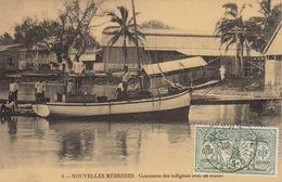 Nouvelles Hebrides Commer Des Indigènes Avec Les Colons - Vanuatu