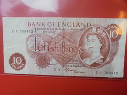 GRANDE-BRETAGNE 10 SHILLINGS 1961-70 CIRCULER - 1952-… : Elizabeth II