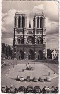 Paris: PEUGEOT 203, 402, CITROËN TRACTION AVANT, VW 1200 KÄFER/COX, SIMCA ARONDE, RENAULT JUVA BREAK - Notre-Dame - Toerisme
