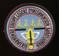 Gendarmerie - Tissu Equipe Legere D'Intervention - Guadeloupe - Police & Gendarmerie