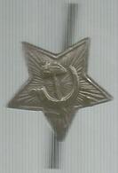 Unione Sovietica, Falce E Martello Su Stella, PCUS, Ae. Gr. 2, Cm. 2,5. - Gettoni E Medaglie