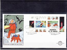 Nederland / Kuifje - Tintin - FDC & Commemoratives