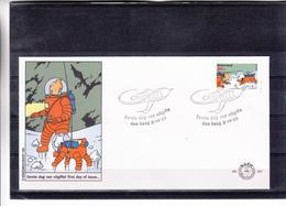 Nederland / Kuifje - Tintin - FDC & Commémoratifs