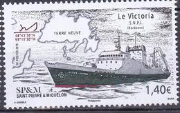 SAINT PIERRE ET MIQUELON 2019  LE VICTORIA   MNH** - St.Pierre Et Miquelon