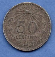 Mexique -  50 Centavos 1937   -  Km # 446   --  état  TTB - Mexico