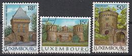 LUXEMBURG - Michel - 1986 - Nr 1153/54y + 1155x - Gest/Obl/Us - Luxembourg