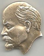 Unione Sovietica, Lenin, Mist. Dorata Gr. 3, Cm. 3 X 2,5. - Personaggi Celebri
