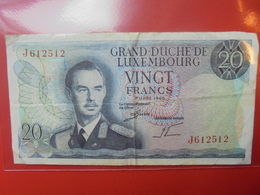 LUXEMBOURG 20 FRANCS 1966 CIRCULER - Luxemburg