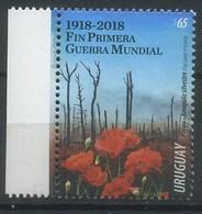 Uruguay 2018 History, The End Of World War I, WWI - Uruguay