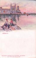Italie, Arenella Palermo, Publicité Weinen's Hôtel De France (203) - Palermo