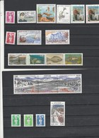Saint Pierre Et Miquelon 1993 Yvert  N°  572 à 584 + 586A + 587 à 589 + 591  ** - St.Pierre & Miquelon