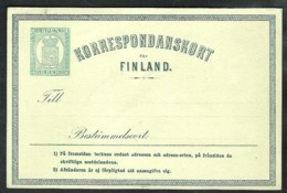 FINLAND Postal Stationery Mi. P 2 * - Finlandia