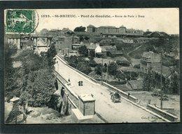 CPA - ST BRIEUC - Pont De Gouëdic - Route De Paris à Brest, Animé - Attelage - Saint-Brieuc