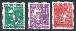 SBZ 20/22 Gestempelt Gefälligkeitsentwertung (Mi. 240,-) - Zona Sovietica