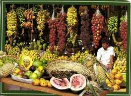 Fruit Seller SRI LANKA  RV Beau Timbre (Oiseau) - Sri Lanka (Ceylon)