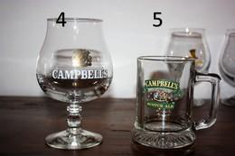 """1 Verre Et 1 Chope à Bière """"Campbell's"""" - En Très Bon état - - Verres"""