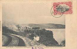 D37382 CARTE MAXIMUM CARD RR 1916 BELGIAN CONGO - CITY OVERVIEW MATADICP ORIGINAL - Sonstige