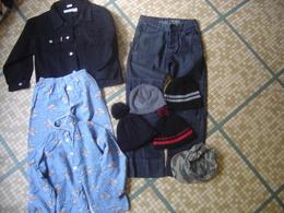Lot HABITS JEAN BONNET CASQUETTE Garcon Habits En Bon Etat Pas Neufs - Vintage Clothes & Linen
