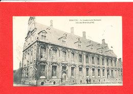 59 BERGUES Cpa Petite Animation Gendarmerie Nationale Ancien Mont De Piété   Edit Boubert - Bergues