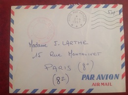 Poste Aux Armées SP 87439 - Marcophilie (Lettres)