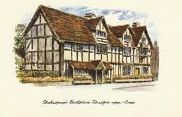 Shakespeare's Birthplace, Stratford-upon-Avon, England - Stratford Upon Avon