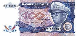 6837-2019    BILLET DE BANQUE ZAÏRE - Zaire