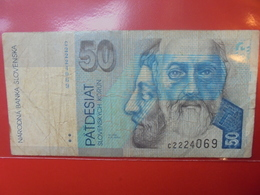 SLOVAQUIE 50 KORUN 1993 CIRCULER - Slowakei