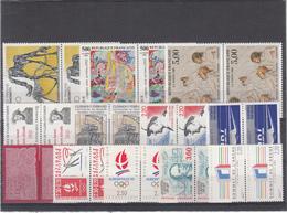 Republique Française / Different Themes - Timbres