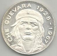 Ernesto Che Guevara 1928 - 1967, Hasta La Victoria Siempre, Mist. Ag. Gr. 16, Cm. 3,5. - Gettoni E Medaglie