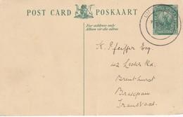 AFRIQUE DU SUD 1940     ENTIER  POSTAL/GANZSACHE/POSTAL STATIONERY CARTE DE UMHLANGA BEACH - South Africa (...-1961)
