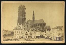 Belgique- Malines Grande Place Et Eglise St. Rombaut - Belgium - 1875 ?? - Photos