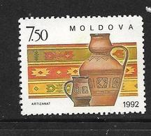 MOLDAVIE 1992 ARTISANAT YVERT N°43 NEUF MNH** - Moldavie