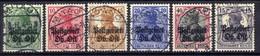 Postgebiet Oberbefehlshaber Ost, 1916/18 Mi 3; 5-8; 10, Gestempelt [200519XXVII] - Occupation 1914-18