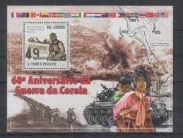 Y913. S.Tome E Principe - MNH - 2010 - Militarie - Korean War - Bl - Militaria