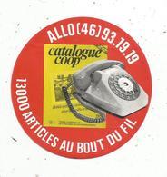 Autocollant , Catalogue COOP - Autocollants
