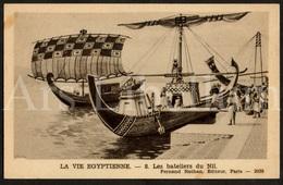 Postcard / CPA / Fernand Nathan / Unused / La Vie Egyptienne / Les Bateliers Du Nil / 8 / 2038 - Histoire