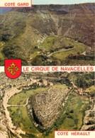 Le Cirque De Navacelles En Haut Cote Gard Par Biandas Pres Du Vigan 12(scan Recto-verso) MC2481 - Frankrijk